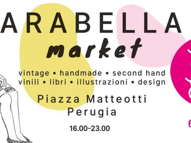 Arabella Market, il primo mercato vintage a Perugia