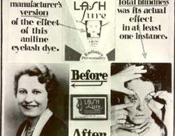poster FDA contro mascara lashlure