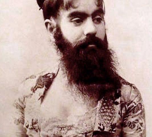 la donna barbuta