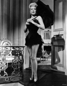 Lana Turner, la vedova allegra 1952