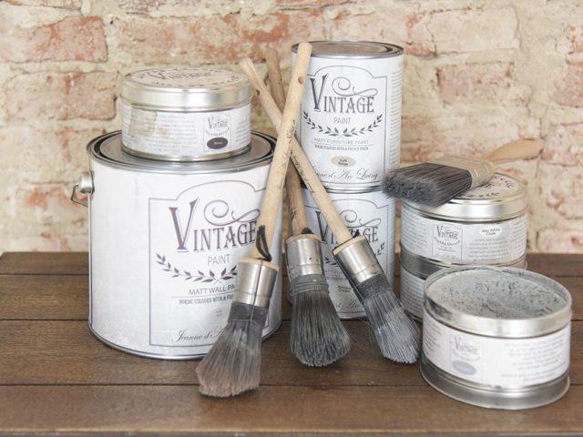 Vintage Paint, il vintage sulle mura di casa