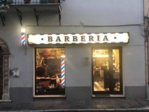 insegna barber shop