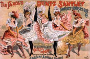 Locandina Burlesque vaudeville